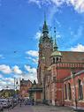 波兰格但斯克火车站建筑图片