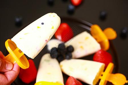 水果棒棒冰图片