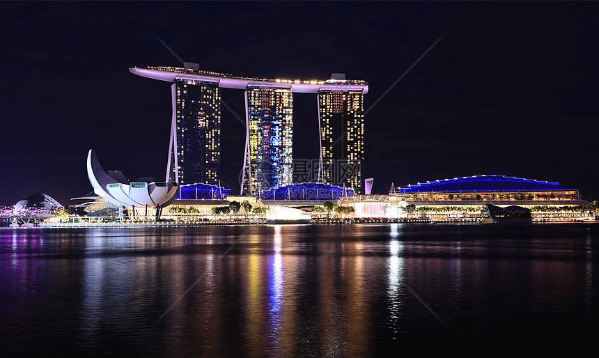 新加坡滨海湾金沙酒店图片