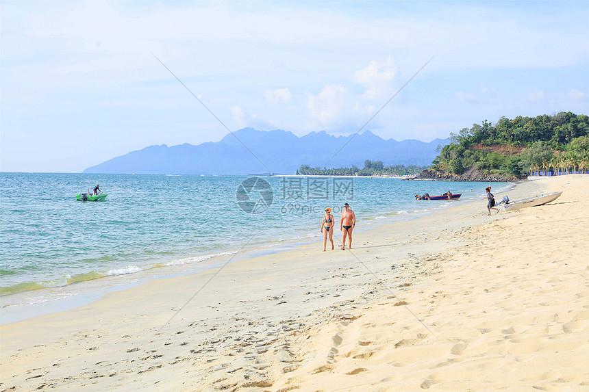马来西亚兰卡威沙滩图片