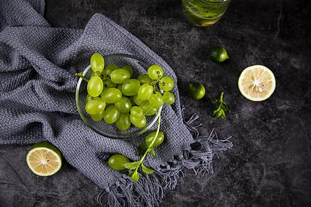 夏日水果葡萄图片