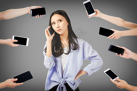 电话骚扰图片
