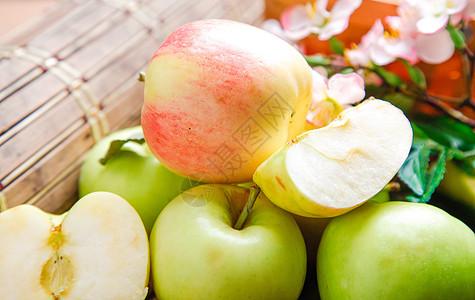 夏季苹果图片