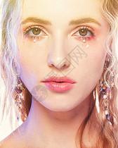 外国美女仙女美妆图片