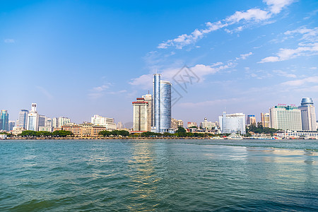 厦门城市建筑背景图片