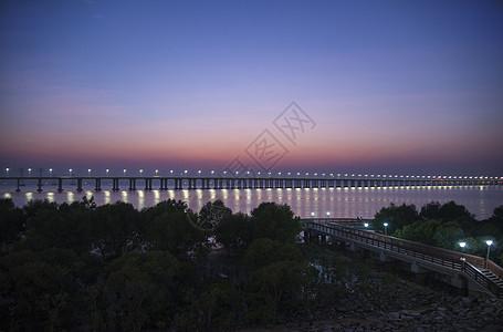 深圳碧海湾黄昏落日夕阳美景图片