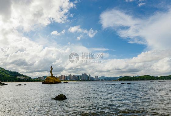 珠海渔女图片