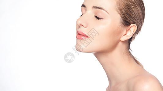 性感唇妆展示图片