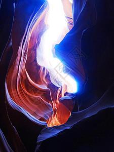 美国羚羊彩穴图片