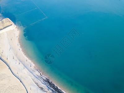 航拍海景图片