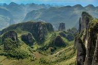 湖北恩施大峡谷风景图片