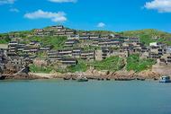 浙江舟山群岛海上民居图片
