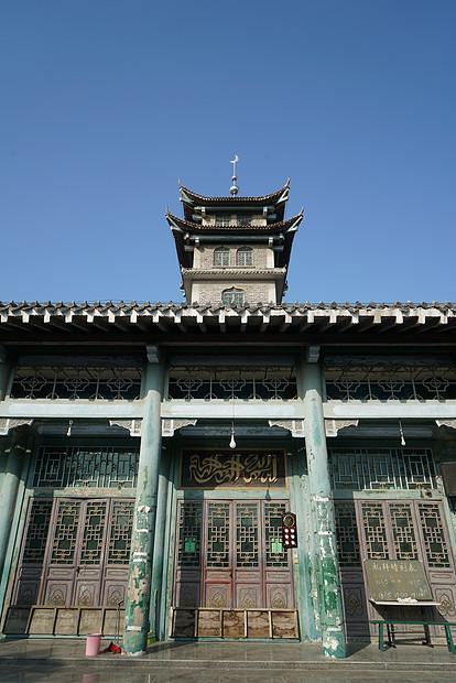 台儿庄清真寺古建筑图片