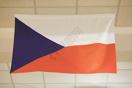 捷克国旗图片