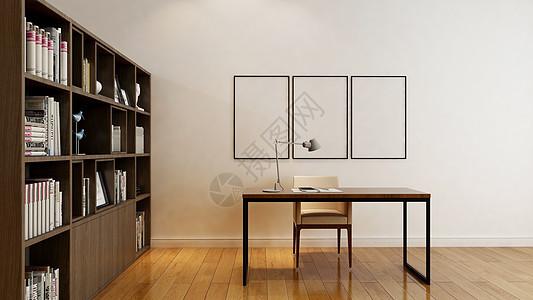 书房背景图片
