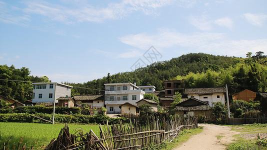 秀美乡村风景图片