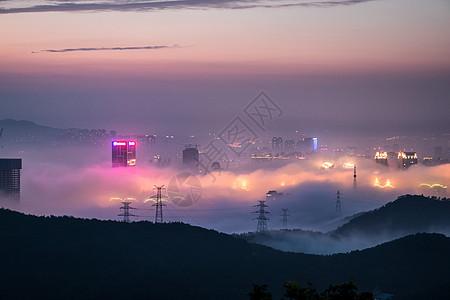梦幻平流雾图片