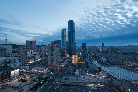 大连中山区友好广场夜景图片