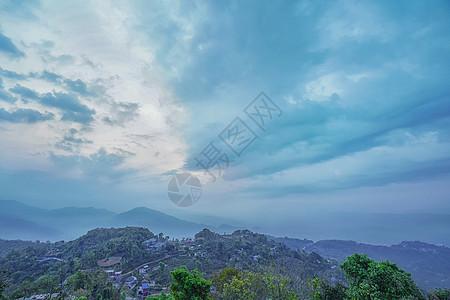 尼泊尔博卡拉萨朗科观景台图片