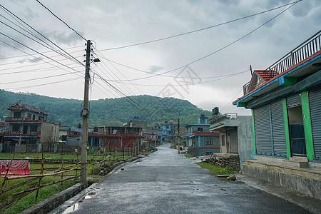 尼泊尔博卡拉乡村田野图片