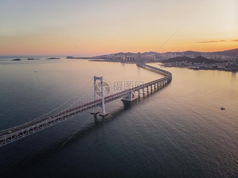 大连星海湾大桥图片