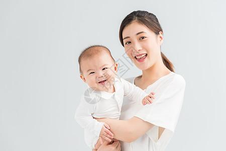 母婴妈妈抱着宝宝高清图片