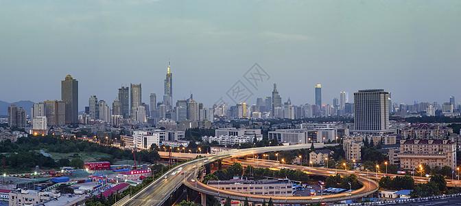 现代城市南京图片