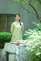 茶馆女生形象图片