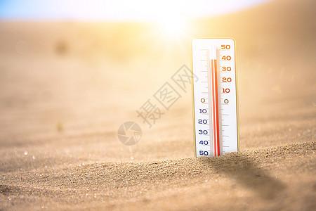 沙漠高温图片