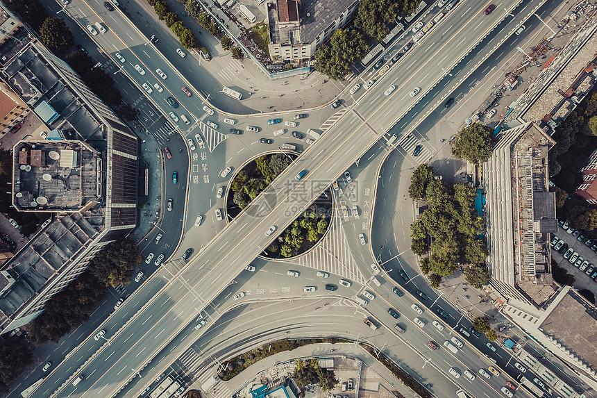 现代城市立体交通图片