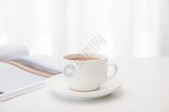 咖啡与书图片