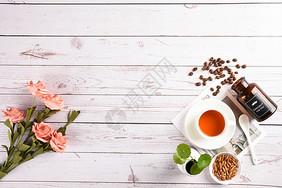 一场悠闲的下午茶图片