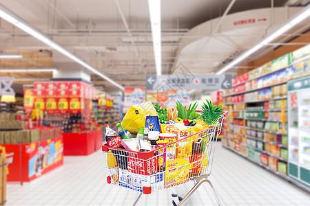 商场超市购物场景图片