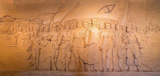 七一建党节壁画图片