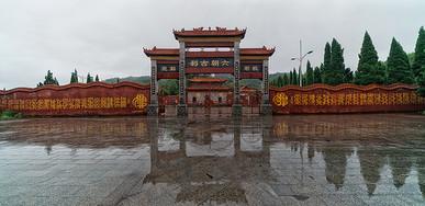 江西九江庐山脚下西林寺图片