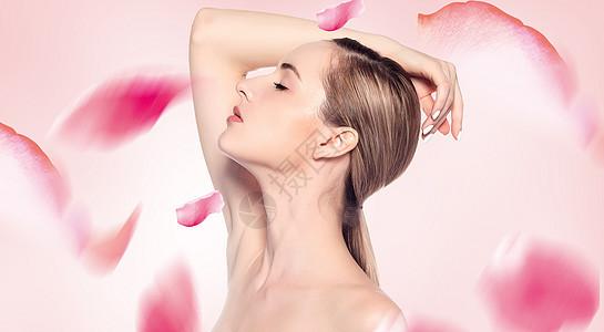 玫瑰美容护肤图片