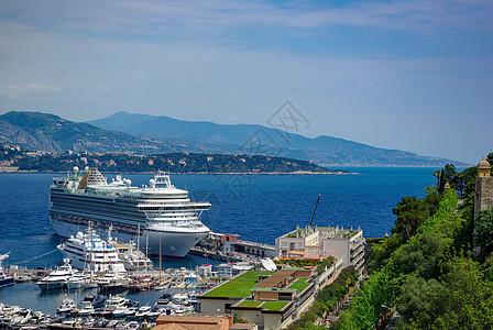 摩纳哥港口风景图片