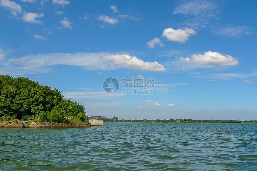 中科院植物园风景图片