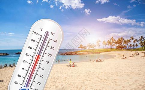高温背景图片