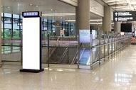 机场指路机海报背景500965095图片