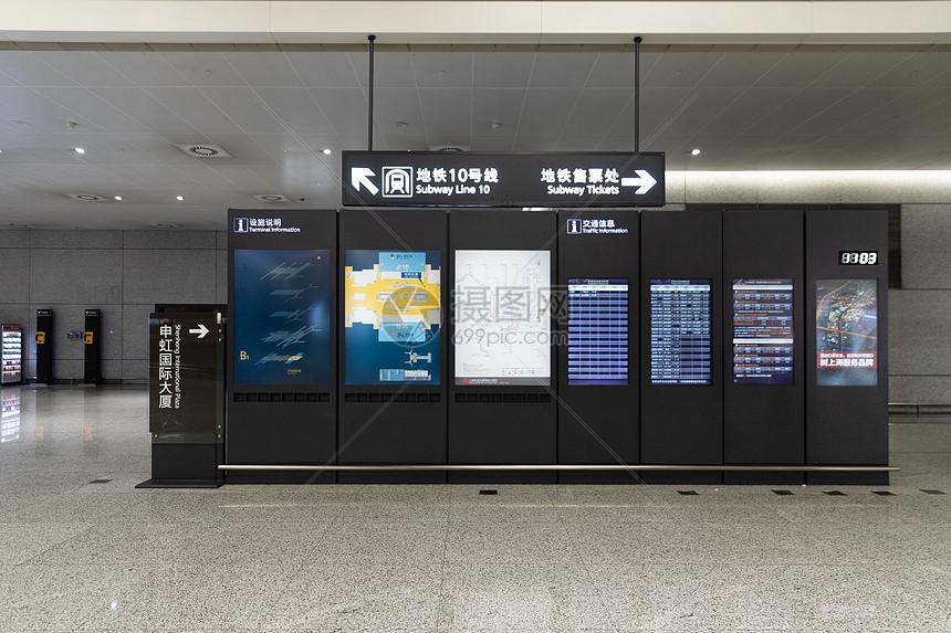机场指示设施图片