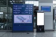 机场指路机海报背景500965138图片