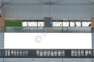 动车站广告牌海报背景图片
