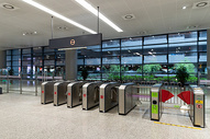 地铁站设施图片