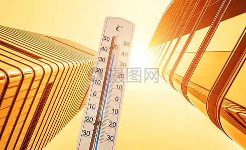 城市高温图片