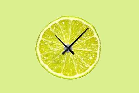 水果时钟图片