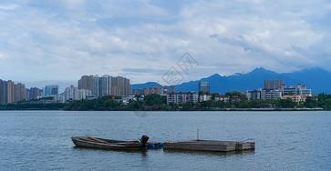 庐山脚下九江甘棠湖景图片