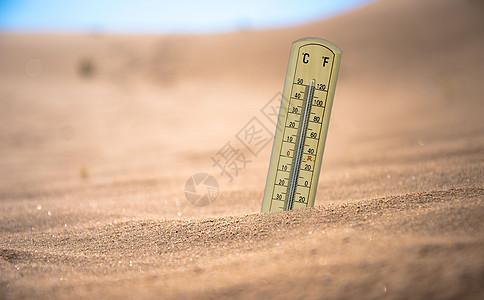 炎热高温图片