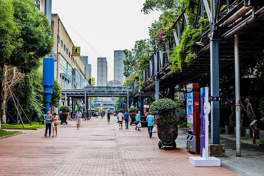 成都东区音乐公园老厂房改建图片