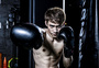 男士健身拳击图片